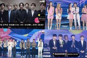 Tổng kết trao giải '2019 Soribada Best K-Music Awards': BTS - Red Velvet nhận Daesang, toàn bộ gà nhà YG vắng mặt