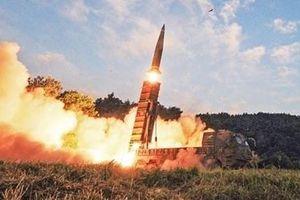 Triều Tiên lại phóng tên lửa đạn đạo ra biển Nhật Bản