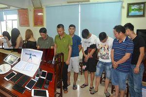 Bắt nhóm đối tượng sử dụng ma túy tại quán Karaoke