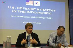 Chuyên gia Mỹ: Mỹ không thể chấp nhận Trung Quốc làm bá quyền khu vực