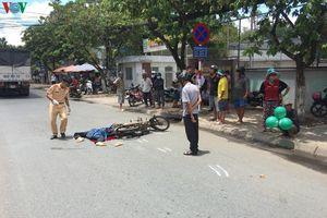 Tiền Giang: Xe tải đâm xe máy, một người tử vong