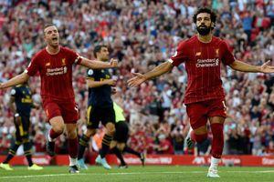 Mohamed Salah lập cú đúp, Liverpool thắng thuyết phục Arsenal