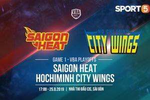 Quyết đấu với Hochiminh City Wings, cơ hội để Saigon Heat phá dớp Playoffs?