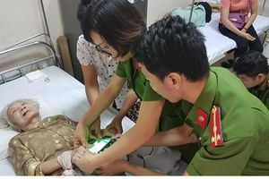 Phục vụ nhân dân là nghĩa vụ và niềm vui của mỗi chiến sỹ công an
