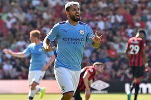 Aguero lập cú đúp, Man.City áp sát Liverpool
