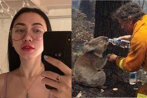 Hot girl bị tố 'sống ảo' khi share nhầm ảnh về vụ cháy rừng ở Amazon