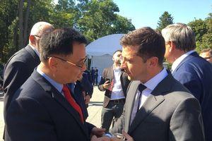 Đại sứ Việt Nam chúc mừng Quốc khánh Ukraine