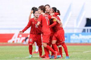 Thắng Philippines 2-1, tuyển nữ Việt Nam vào chung kết