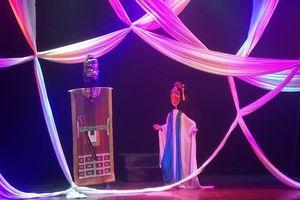 Một nét Kiều mới trên sân khấu rối