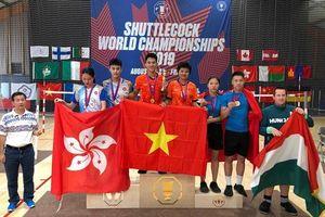 Thắng Trung Quốc, Việt Nam nhất toàn đoàn Giải vô địch đá cầu thế giới