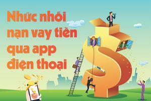 Nhức nhối nạn vay tiền qua app điện thoại