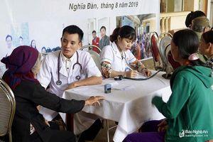 Các hoạt động từ thiện thiết thực hỗ trợ người nghèo tại Nghệ An ngày 25/8