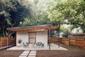 Ngôi nhà mái bằng 3D tiện nghi giá rẻ được hoàn thiện trong vòng 24 tiếng khiến nhiều người sửng sốt