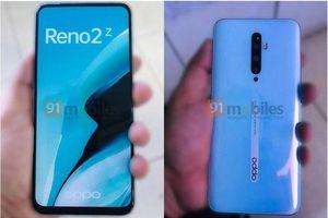 Oppo Reno 2Z bị lộ hình ảnh thực tế
