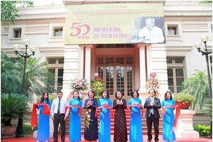 Thư viện Quốc gia Việt Nam tổ chức Triển lãm tư liệu '50 năm thực hiện Di chúc Chủ tịch Hồ Chí Minh'