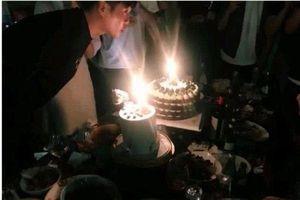 Chúc mừng sinh nhật ông xã Trương Nhược Quân, Đường Nghệ Hân lộ vòng hai lớn, đang mang thai?