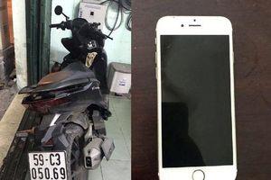 Trinh sát truy đuổi tóm gọn hai tên cướp giật iPhone ở Sài Gòn