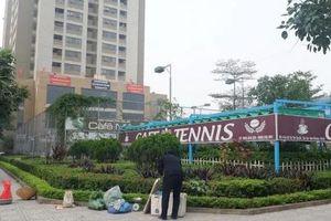 UBND huyện Đan Phượng chỉ đạo tháo dỡ công trình sai phạm tại tòa nhà HHB, Khu đô thị Tân Tây Đô