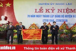 Kỷ niệm 70 năm thành lập Đảng bộ huyện Ngọc Lặc