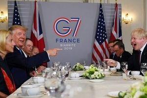 Tổng thống Trump hết lời ca ngợi tân Thủ tướng Anh bên lề G7