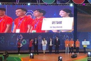 Việt Nam xếp hạng 3 tại cuộc thi Sáng tạo robot châu Á - Thái Bình Dương 2019