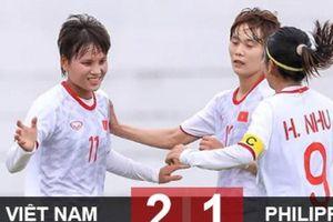Việt Nam 2-1 Philippines: Việt Nam vào chung kết AFF Cup nữ