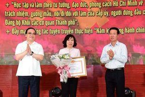 Hà Nội luôn chủ động học tập, vận dụng sáng tạo tư tưởng Hồ Chí Minh