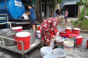 Sản xuất nước sạch ở Đà Nẵng đã trở lại bình thường