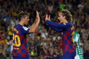Griezmann lập cú đúp, Barcelona trở lại con đường chiến thắng