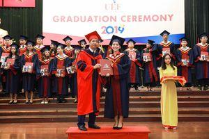 Ấn tượng với buổi lễ tốt nghiệp – vinh danh tân thạc sĩ, cử nhân UEF 2019