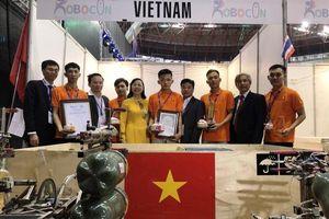 Việt Nam đoạt giải Ba cuộc thi Sáng tạo Robot châu Á - Thái Bình Dương 2019