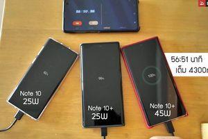 Samsung có lý do khi chỉ tặng kèm cục sạc nhanh 25W cho Galaxy Note 10+