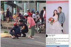 Vợ sắp cưới mất vì tai nạn, chàng trai bay từ Nhật về tổ chức lễ cưới ngay trong đêm