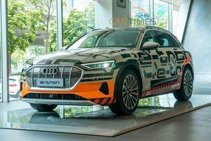 Khám phá SUV chạy điện Audi e-tron duy nhất tại Việt Nam