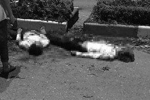Hé lộ nguyên nhân vụ xe máy kẹp 5 tông vào dải phân cách ở Thái Nguyên