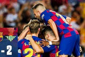 Chùm ảnh: Không Messi, Barca vẫn có 3 điểm đầu tay tại La Liga