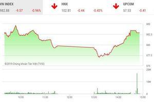 Phiên chiều 26/8: Thị trường chìm trong sắc đỏ, cổ phiếu MBB bất ngờ bùng nổ