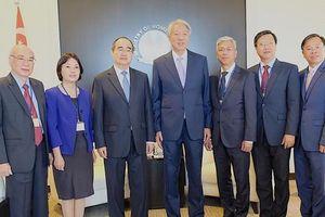 Bí thư Thành ủy TPHCM Nguyễn Thiện Nhân tìm hiểu kinh nghiệm startup từ Singapore