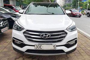 Hyundai SantaFe cũ 'dùng chán' bán hơn 1 tỷ ở Hà Nội