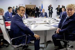 G7 chia rẽ nội bộ, Pháp ra tuyên bố hội nghị ngắn gọn về nhiều vấn đề nóng