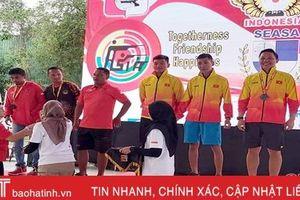 VĐV Hà Tĩnh giành HCV Giải vô địch bắn súng Đông Nam Á