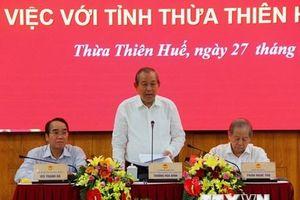 Phó Thủ tướng: Thừa Thiên-Huế đẩy mạnh phát triển chính quyền điện tử