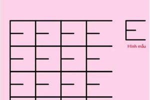 Câu đố đếm số chữ E thách thức người giải