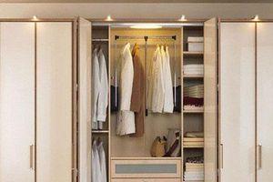 Cách chọn tủ quần áo đúng phong thủy giúp gia đình hòa thuận