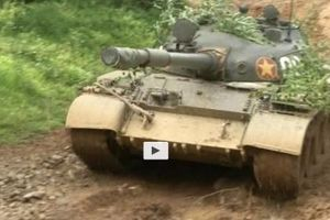 Ảnh cực hiếm xe tăng T-62 Việt Nam dũng mãnh đột kích