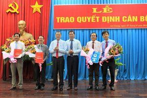 Viện KSND tối cao, Tỉnh ủy An Giang, Hà Giang có nhân sự mới