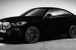 BMW X6 bản đặc biệt sở hữu màu sơn tối nhất thế giới