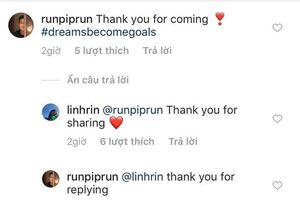 Phillip Nguyễn - Linh Rin viết lời ngọt ngào cho nhau trên mạng xã hội
