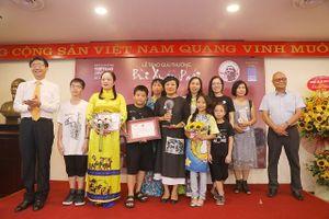 Giải Bùi Xuân Phái - Vì tình yêu Hà Nội 2019: Cuộc tiếp sức của các thế hệ cống hiến vì Hà Nội