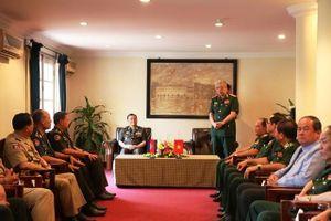 Giao lưu hữu nghị biên giới Việt Nam - Campuchia